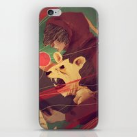 courage iPhone & iPod Skins featuring Courage by James M. Fenner