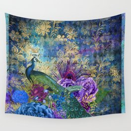Feather Peacock 20 Wall Tapestry