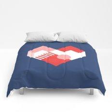 Heart II Comforters