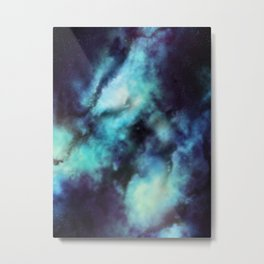 Cosmicrazy For Blue Metal Print