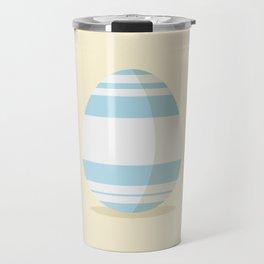 Easter egg with stripes Travel Mug
