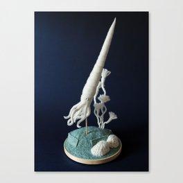 Paleozoic Sea Creature: Squid Canvas Print