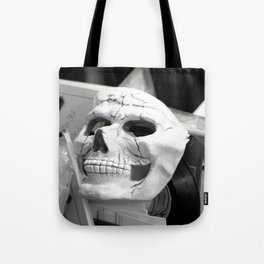 Skull mask, Old Curiosity Shoppe, Suisun City, CA  Tote Bag
