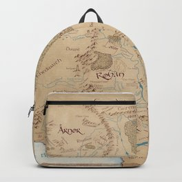 Third Age Map // Fantasy Map Backpack