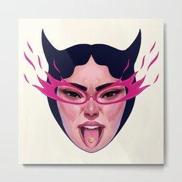 Devil's Tongue Metal Print