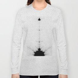 detail on mandelbrot set Long Sleeve T-shirt