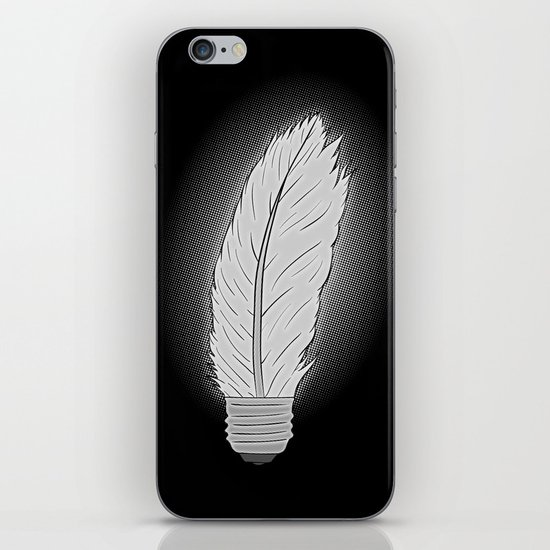 Light As a Feather iPhone & iPod Skin