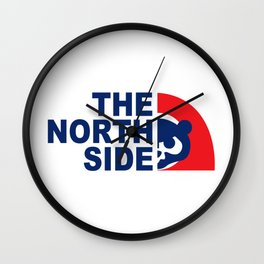Cubs the north side Wall Clock