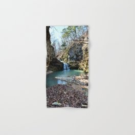 Alone in Secret Hollow with the Caves, Cascades, and Critters, No. 15 of 21 Hand & Bath Towel