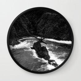 Jurassic Surf Wall Clock