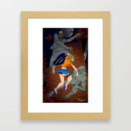 Fighters Framed Art Print