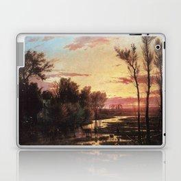 Un tramonto dopo la pioggia: A sunset after rain 1864 Laptop & iPad Skin