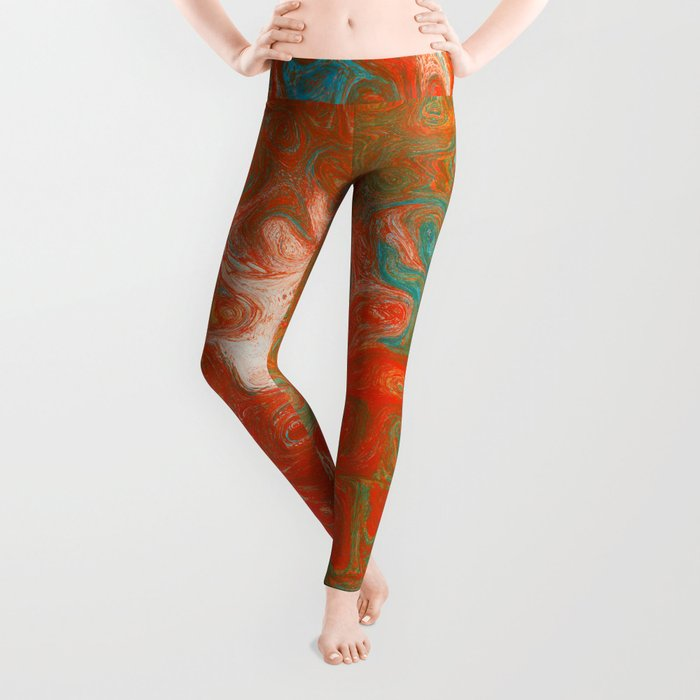 As Luck Would Have It, Abstract Art Leggings
