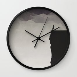 Sing to the wide open spaces Wall Clock