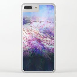Andes (A Seismic Portrait) Clear iPhone Case