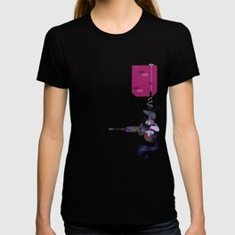 Pocket defense widow T-shirt