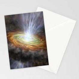 1889. W33A Accretion Disk Stationery Cards