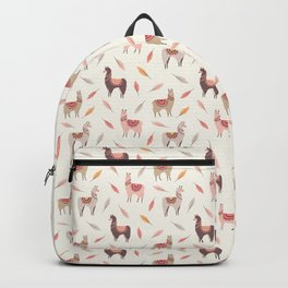 Boho llama Backpack