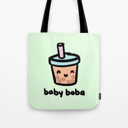 Baby Boba Tote Bag