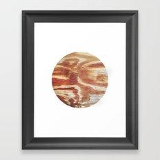 Planetary Bodies - Wood Framed Art Print