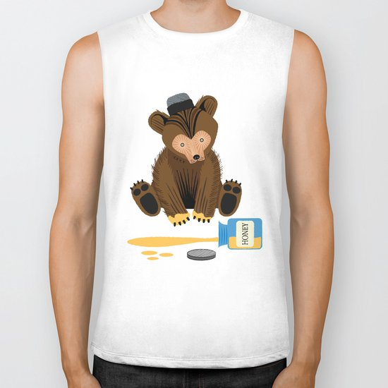 The Honey Bear Biker Tank