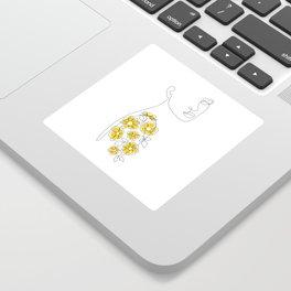Mustard Sleeve Sticker