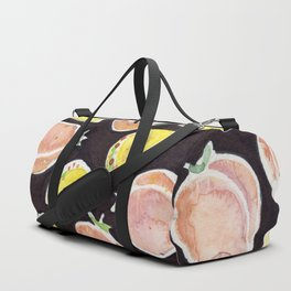Peach & Taco Duffle Bag