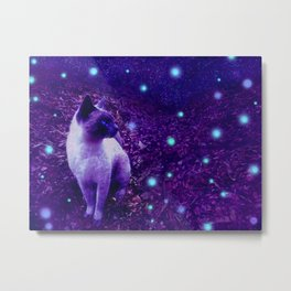 Ethereal Entity Metal Print