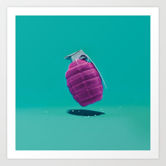 Smart Bomb Art Print