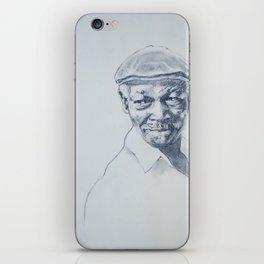 Ibrahim Ferrer de mi corazón iPhone Skin