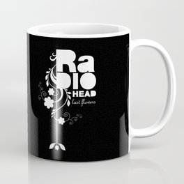 Radiohead song - Last flowers illustration white Coffee Mug