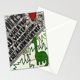 You're so old, when you walked out of the museum, the alarm went off.  Stationery Cards