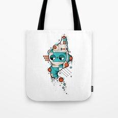 Muscle cat Tote Bag
