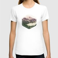 the mountains are calling T-shirts featuring The Mountains Are Calling by Noonday Design