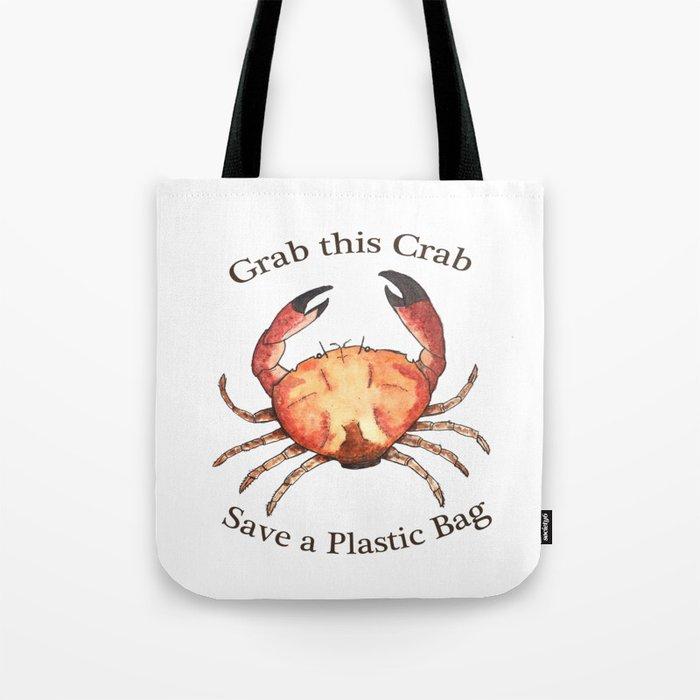 Crab: Fish of Portugal Tote Bag