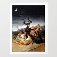 Witches Sabbath Art Print