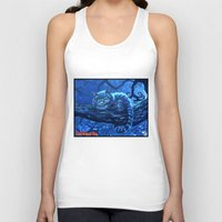 cheshire cat Tank Tops featuring Cheshire Cat by Tom C Carlton