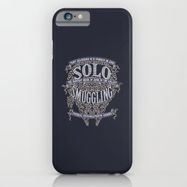 Solo Smuggling iPhone Case