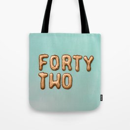 fortytwo - 42 Tote Bag