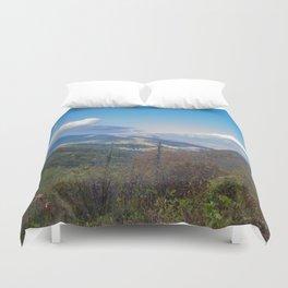 Blue Ridge Peaks Duvet Cover