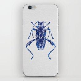 Blue Beetle IV iPhone Skin