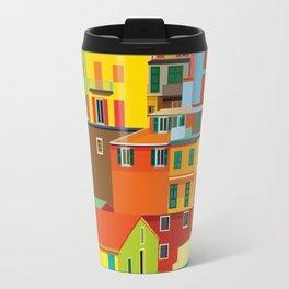 Manarola, Cinque Terre, Italy Travel Mug