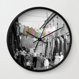 Laundry Day 2 Wall Clock