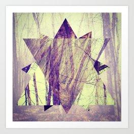 branching. Art Print