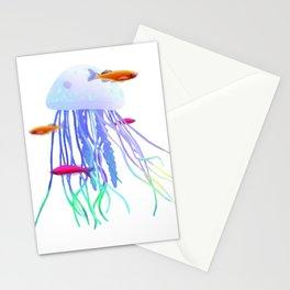 Jellyfish Landscape Stationery Cards