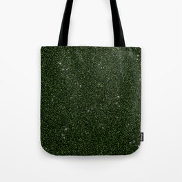 C13D Green Glitter Tote Bag