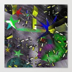 Decaying Orbit Canvas Print
