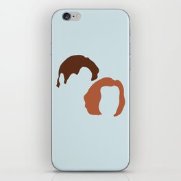 Mulder and Scully, X-Files iPhone Skin