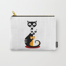 Cats Family Carry-All Pouch