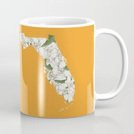 Florida in Flowers Coffee Mug